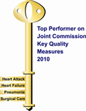 top performer on joint commission logo
